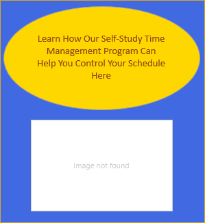 Time Management Self Study Program